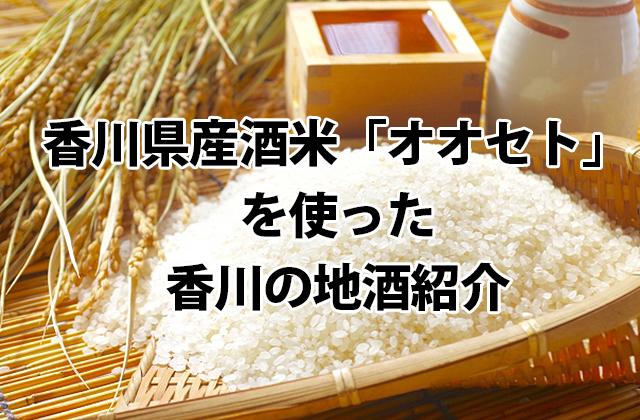 オオセトを使った香川の地酒