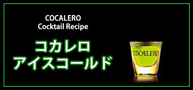 コカレロレシピ:アイス