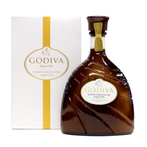 「ゴディバ(GODIVA) ホワイトチョコレート 750ml リキュール 15度 並行輸入品