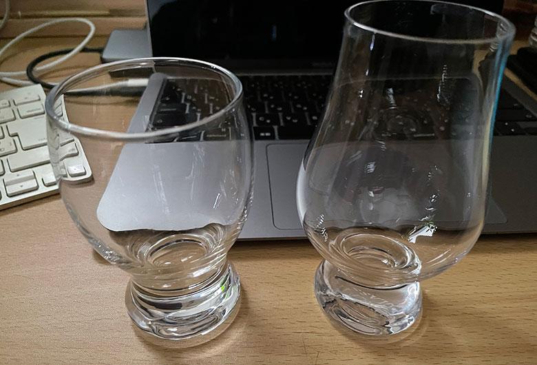グラスの比較