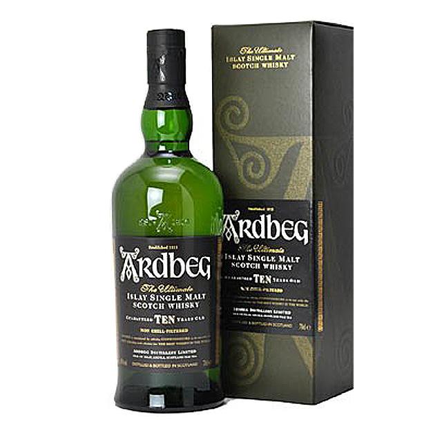アードベッグ 10年 700ml シングルモルト スコッチ ウイスキー 46度 正規品 箱付