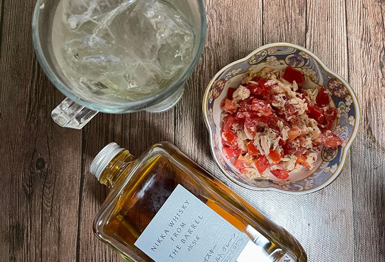 ツナトマトサラダ レシピ