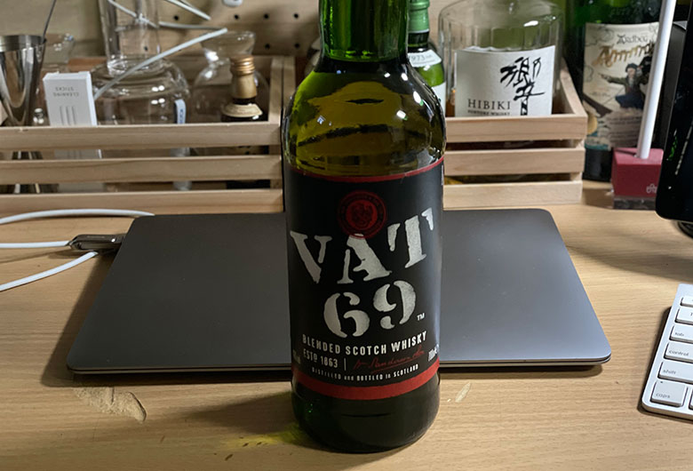 VAT69 レビュー