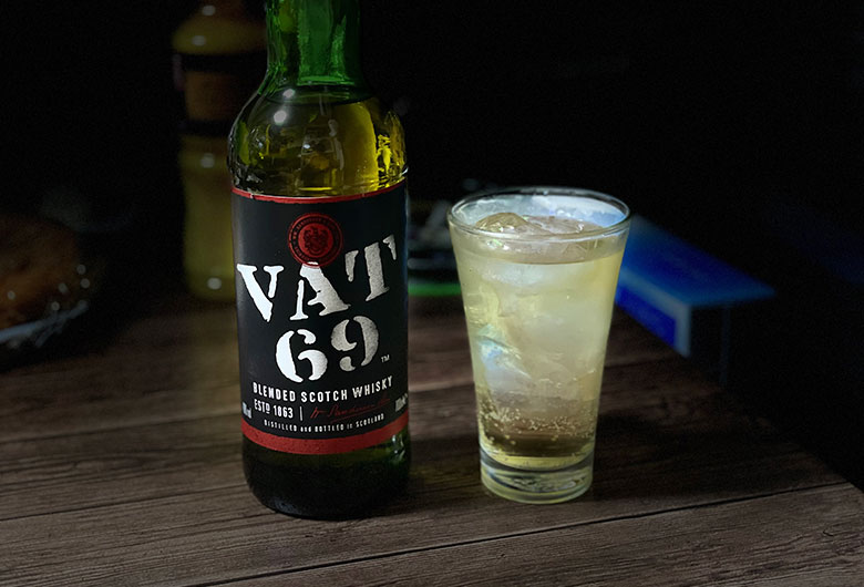 VAT69 ハイボール
